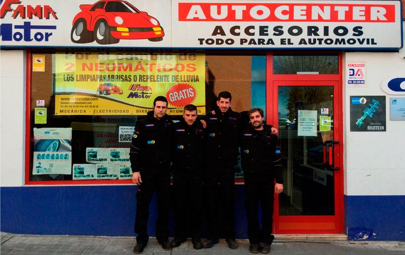 Equipo Fama Motor - Profesionales cualificados